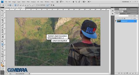 Cara Edit Foto Di Photoshop Agar Seperti Dslr | edit foto seperti kamera dslr dengan photoshop gembara