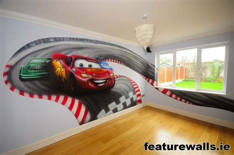 disney pixar cars wall mural