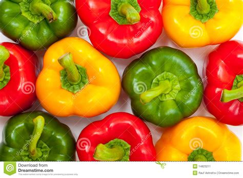 colored peppers different colored peppers stock image image 14823211