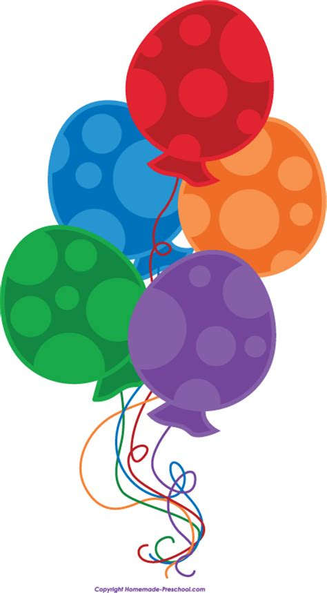 clipart ballo free birthday balloons clipart