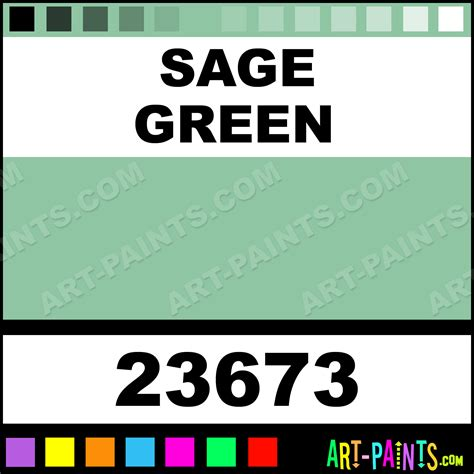 sage green color wheel sage green artist acrylic paints 23673 sage green