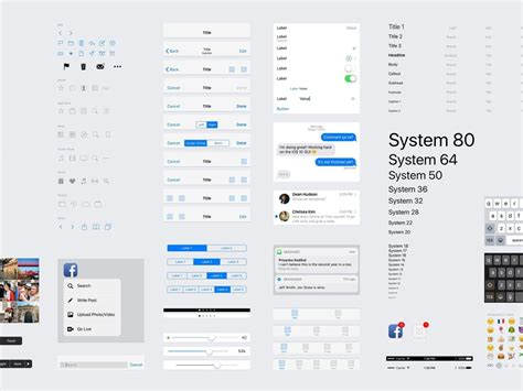Free Ios 10 Ui Kit Iphone For Sketch Photoshop Figma Adobe Xd Sketchapp Sketch Apple Adobe Xd Templates Ios