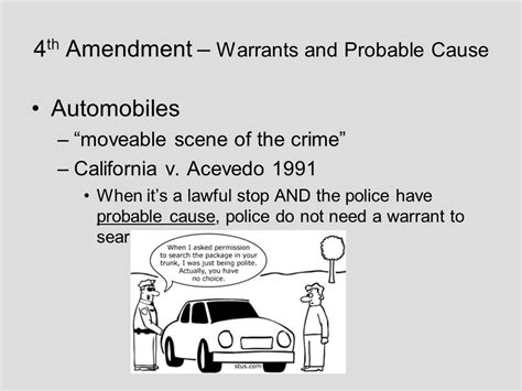 4th Amendment Search Warrant A Three Part Test That Determines Whether An Individual Has Received Due Process