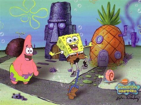 spongebob squarepants house damien wallpapers spongebob and patrick squarepants