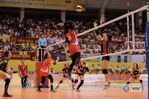pemain timnas voli putri indonesia timnas bola voli putri indonesia jadi runner up di vtv cup
