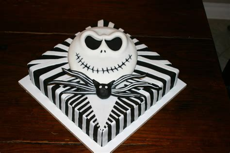 Skellington Cake Decorations by Skellington Birthday Cake Cakecentral