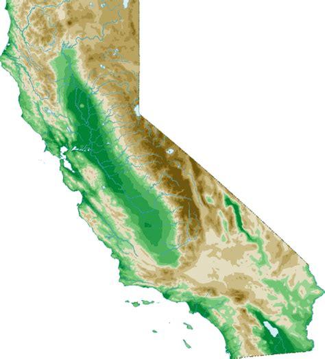 topo map of california california topo map topographical map