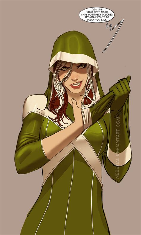 just a rogue inspired by a word by nebezial on deviantart