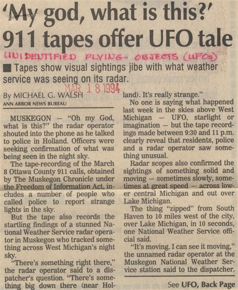 ufo research paper image gallery newspapers articles