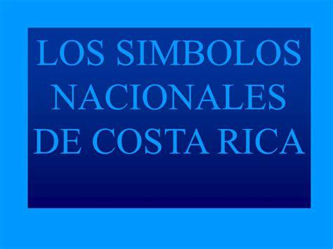 imagenes de simbolos nacionales de costa rica para colorear los simbolos nacionales de costa rica ppt descargar