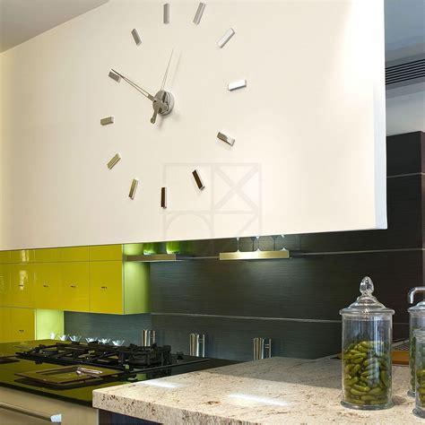 horloges murales cuisine pendule cuisine design diy design moderne numrique 3d