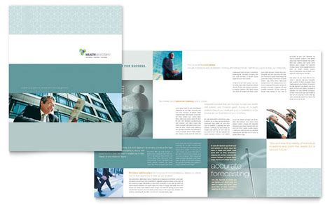 Service Brochure Template by Wealth Management Services Brochure Template Design