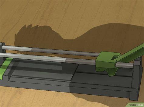 come tagliare le piastrelle come tagliare le piastrelle 12 passaggi illustrato