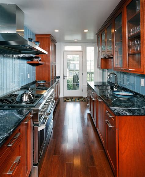narrow galley kitchen ideas 12 amazing galley kitchen design ideas and layouts