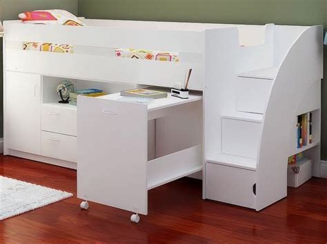 Childrens Cabin Beds With Desk by Cabin Beds Childrens Mid Sleeper Beds And Mid Sleeper Bed On