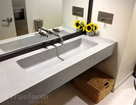 floating bathroom sinks floating sink for commercial bathroom trueform decor