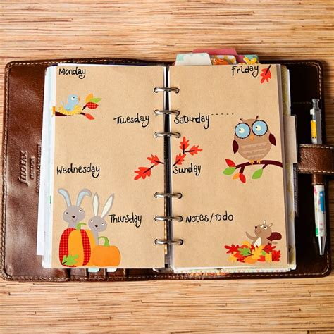 Decoration Ideas For Diary 1000 Images About Filofax Personal Domino On
