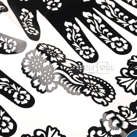 henna tattoo hand stencils henna mehndi stencils indian wedding