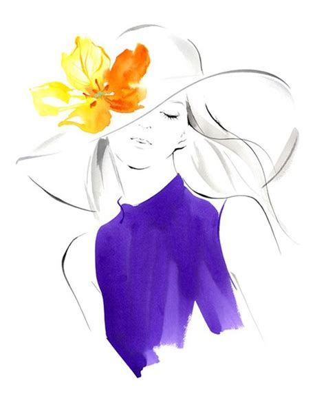 Gorgeous Fashion Illustrations by Beautiful Fashion Illustration By Ms Yoco Nagamiya