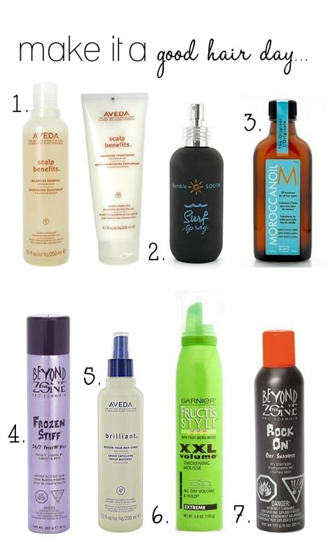 7 Awesome Hair Products To Try products hair and