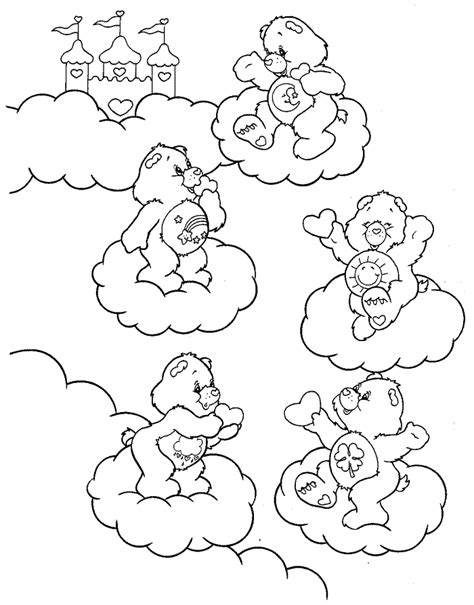 care bears coloring page care bear printables coloring home