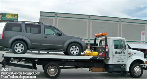 tow truck bed truck trailer transport express freight logistic diesel