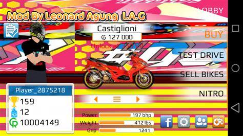 game drag motor indonesia mod apk drag racing apk mod motor indonesia satria fu mio supra