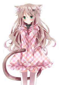Cute anime girl with cat ears funny cat photos funny cat photos