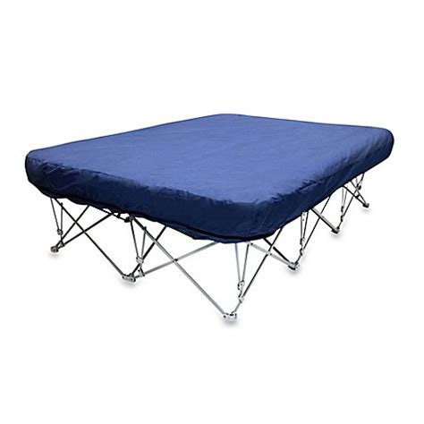 Inflatable Bed With Foldable Frame Bed Bath Beyond Air Bed Frame
