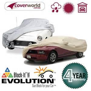 Car Covers Custom Made Blockit Eolution Custom Made Car Cover