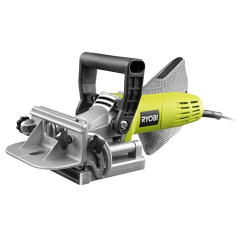 woodworking biscuit cutter ryobi 600w corded biscuit joiner bunnings warehouse