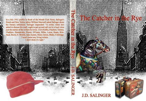 catcher in the rye theme project book cover idea for quot catcher in the rye quot on behance