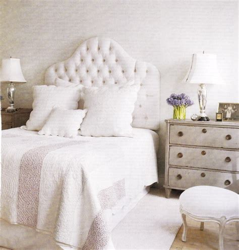 Tufted Velvet Headboard French Bedroom