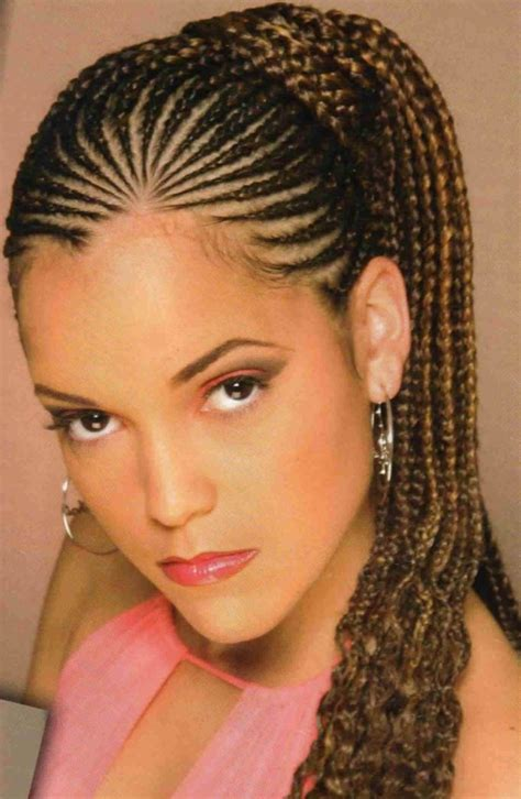 black braids with cornrows braided hairstyles for black outstanding
