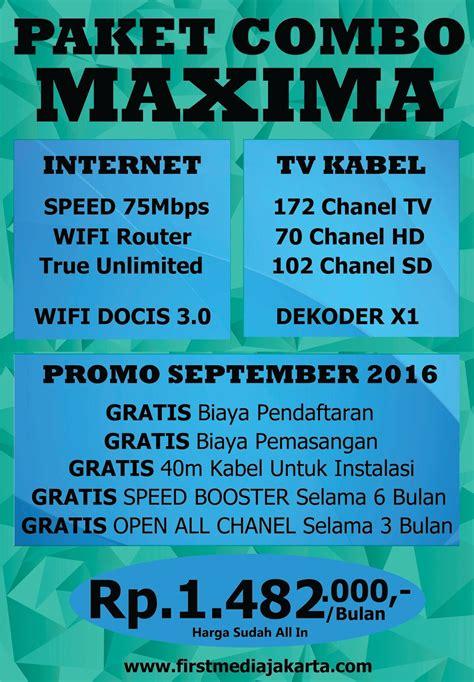 Firstmedia Jabodetabek media