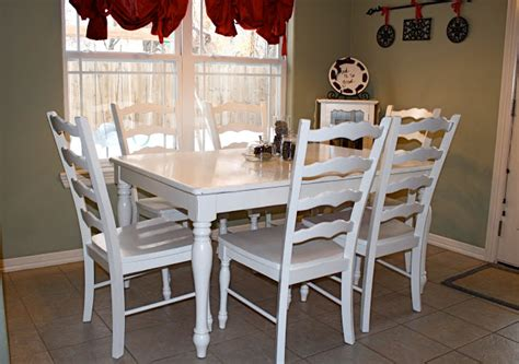 Repaint Kitchen Table by Painting Kitchen Table