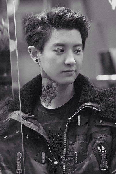 exo chanyeol new tattoo image via we heart it https weheartit com entry