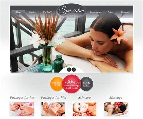 hair and beauty salon thereadpage the read page the 18 free beauty salon website templates templatemag