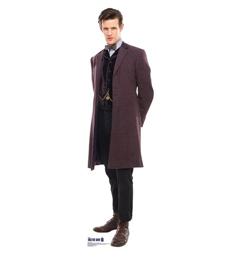 11th doctor doctor who dr who coat matt smith cardboard