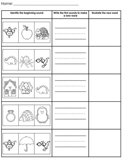 Blending Sounds Worksheets For Grade by Blending Cvc Words Activities Student And The O Jays