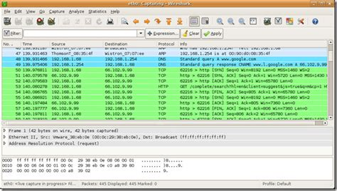 wireshark ubuntu tutorial wireshark awesome network packet sniffer