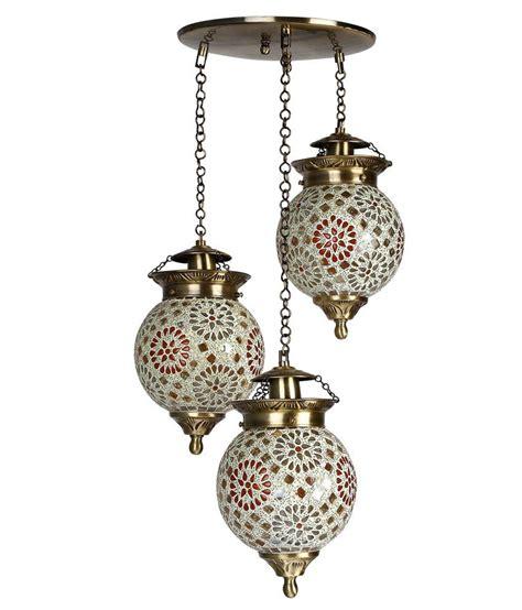 3 light set fos lighting chandni tilak set of 3 hanging lights buy