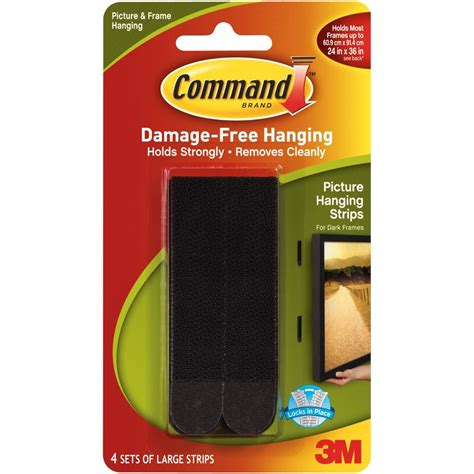 command strips products i love pinterest command large black picture hanging strips bunnings