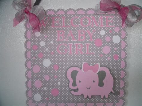 Pink And Gray Elephant Baby Shower Decorations by Baby Shower Ideas Pink And Gray Elephant Themed Baby Shower