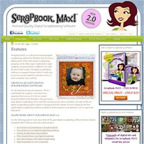 Scrapbook Max Digital Scrapbooking Software by Scapbook Pearltrees