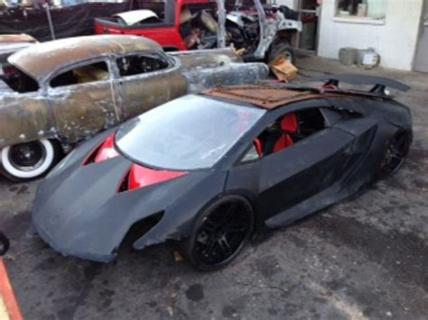 own this trashed lambo sesto elemento quot nfs quot stunt