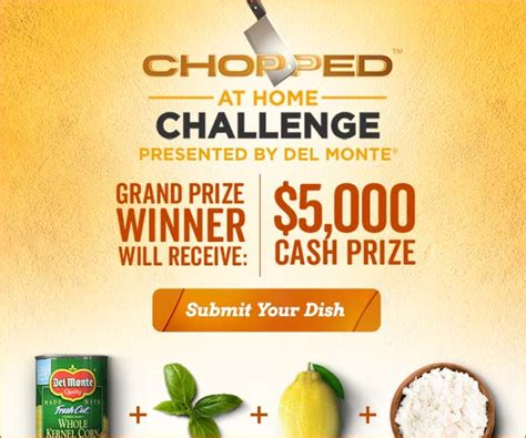 monte chopped at home challenge food network