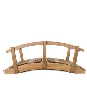 wooden garden bridge garden bridge and cedar plank foot bridge by all things cedar canada patio furniture