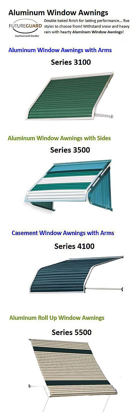 awning options aluminum porch awning metal porch awning