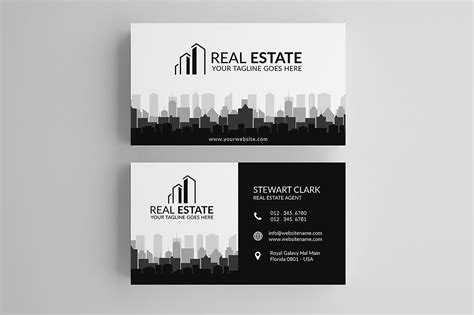 real estate cards template 30 modern real estate business cards psd decolore net